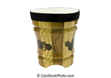 bongo drum isolated