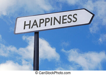 bonheur, signe