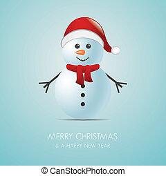 Clipart vecteur de charpe chapeau neige nuage neige illustration csp38625316 - Chapeau bonhomme de neige ...