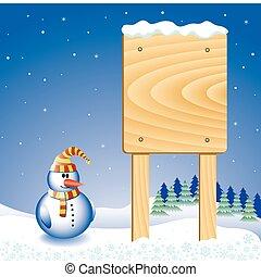 bonhomme de neige, conseil message