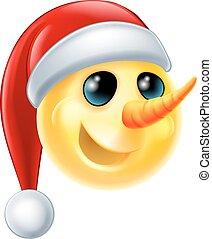 Emoticon Noel Emoticon Pouce Haut Noel Canstock