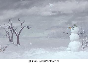 bonhomme de neige, ntsc
