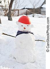 bonhomme de neige, rigolote