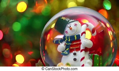 bonhomme de neige, sphère