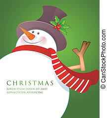 bonhomme de neige, wiht, noël, écharpe, rouges