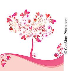 bonito, árvore