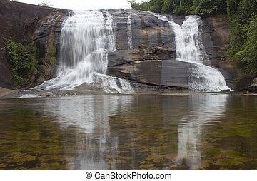 bonito, cachoeira, em, tailandia