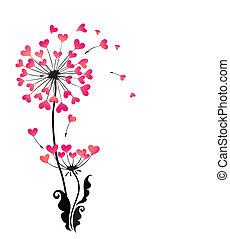 bonito, dandelion