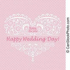 bonito, dia casamento, saudação