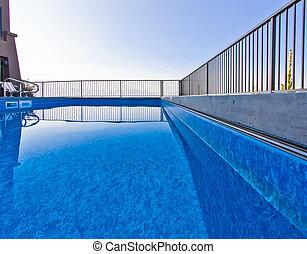 bonito, instalação, piscina