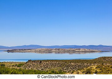 bonito, lee vining, lago mono, califórnia