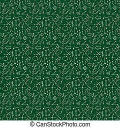 bonito, linhas, papel, tecido, pedaço, pattern., seamless, textura, experiência., imprimindo, desenhado, ser, usado, booking., mão, infinito, illustration., setas, vetorial, lata, cima, ou
