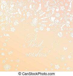 bonito, lua mel, cartão