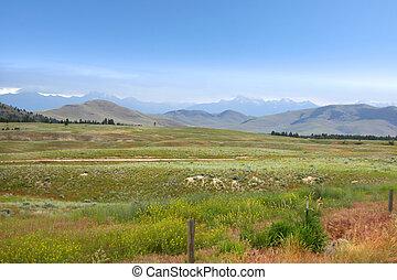 bonito, montana, paisagem