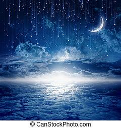 bonito, noturna