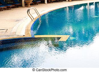 bonito, pool., natação