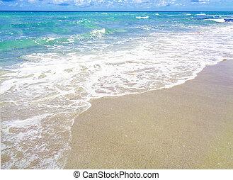 bonito, praia, paraisos