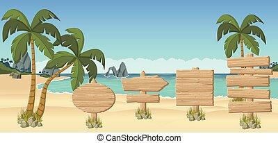 bonito, praia tropical