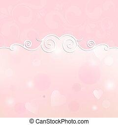 bonito, quadro, para, desenho, ligado, um, fundo cor-de-rosa