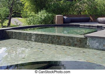 bonito, recurso, piscina, natação