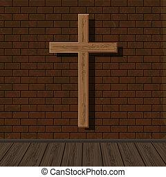 bonito, religiosas, desenho, seu, fundo