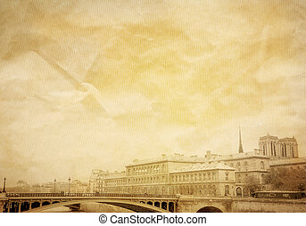 bonito, ruas, parisian
