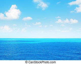 bonito, seascape