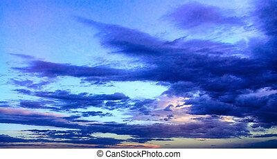 bonito, skyscape