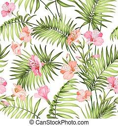bonito, tropicais, flowers.