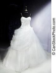 bonito, vestido, casório