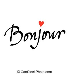 bonjour illustrations and clip art 419 bonjour royalty free rh canstockphoto com Hello Clip Art Hello Clip Art