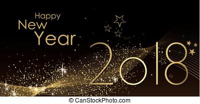 bonne année, 2018