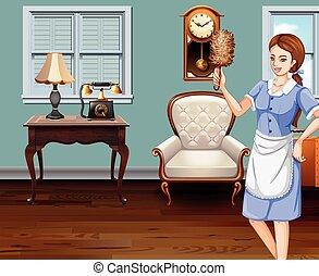 bonne, nettoyant foyer