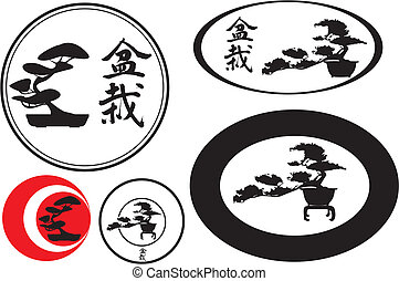 bonsai, kengai, moyogi - Japanese art of shaping trees