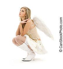 bontachtig, rok, engel