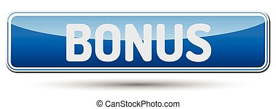 BONUS  Abstract beautiful button with text.