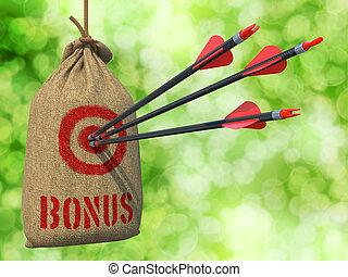 Bonus - Arrows Hit in Red Target.