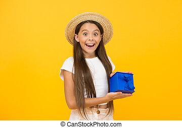 bonus., boxes., プレゼント, 黒, 十代, 贈り物, 夏, girl., sales., 休日, 余分, celebration., concept., 割引, 買い物, 幸せ, childhood., 金曜日, プレゼント, birthday, 出産