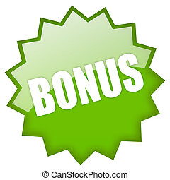 bonus, grön