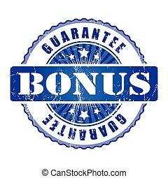Bonus  Guarantee Stamp.