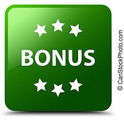 Bonus icon green square button