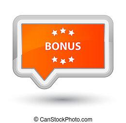 Bonus icon prime orange banner button