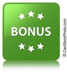 Bonus icon soft green square button