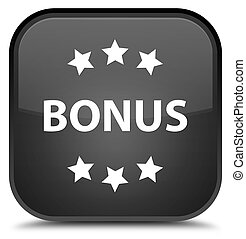 Bonus icon special black square button