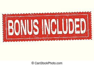 Bonus included grunge rubber stamp