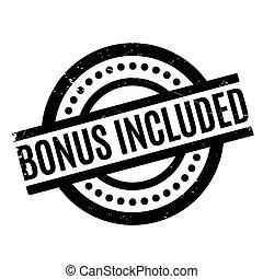Bonus Included rubber stamp