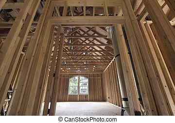 Bonus Room Wood Studs Framing