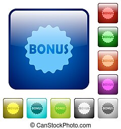 Bonus sticker color square buttons