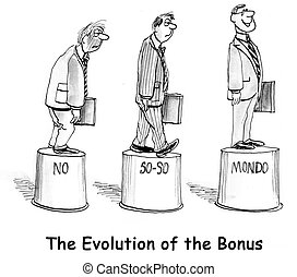 bonus - three levels of the bonus