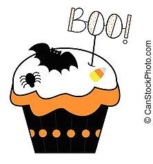 Boo Cupcake